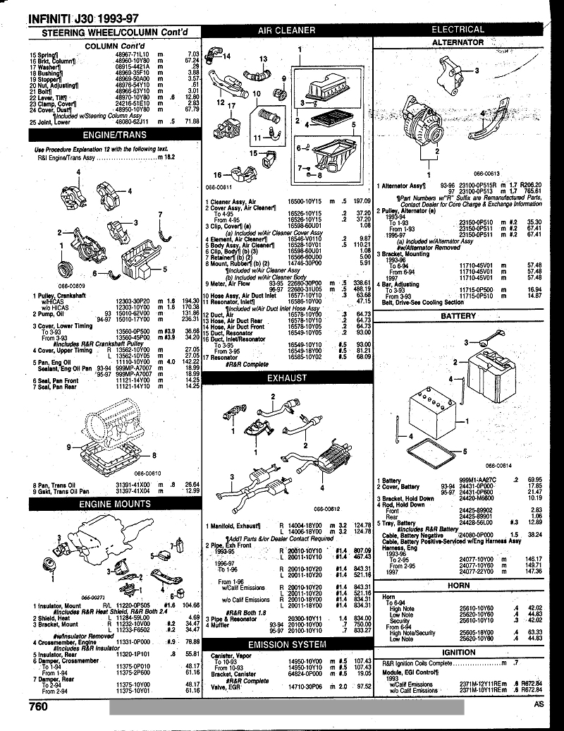 1994 Infiniti G20 Engine Diagram Opinions About Wiring 95 Geo Tracker Battery 1993 J30 Manual Rh Stock Markets Co 1998
