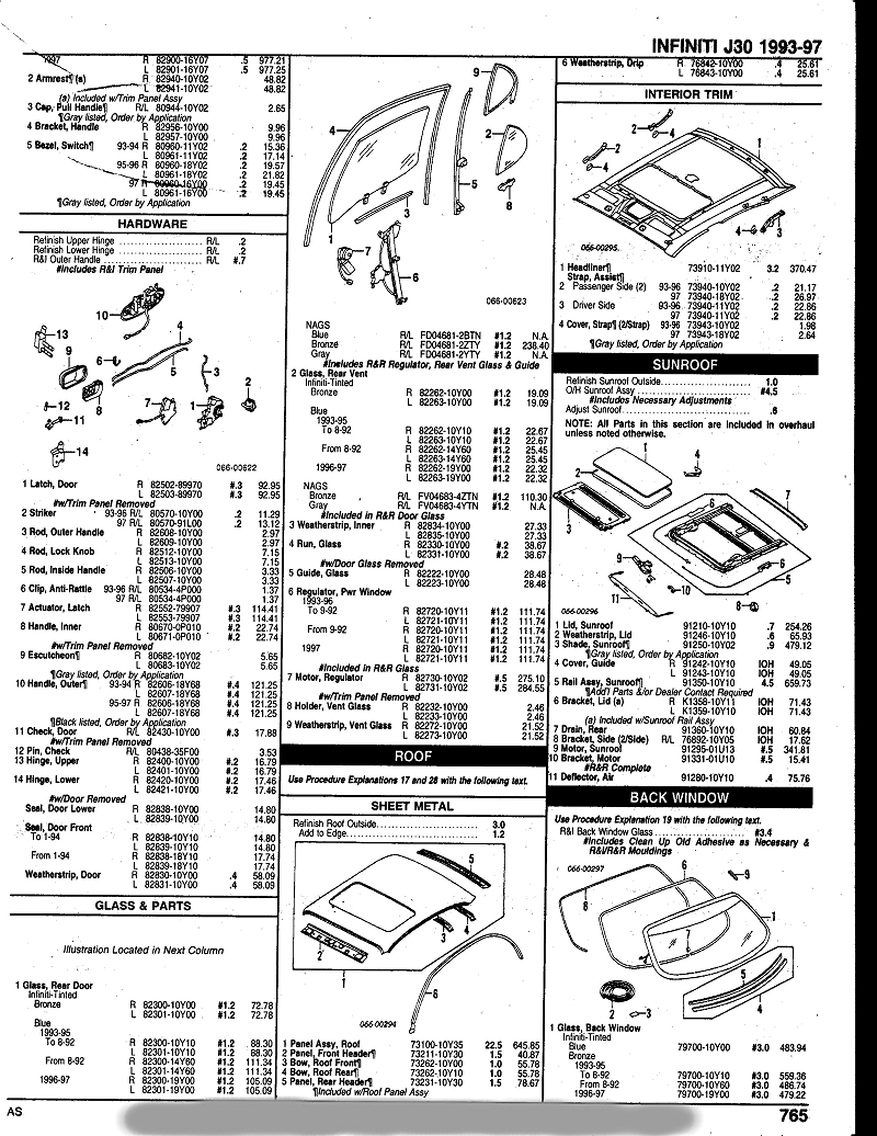 Door Lock Diagram 1997 J30 Electrical Wiring Diagrams 1993 Infiniti Under Dash Fuse Box Parts Turtleworm
