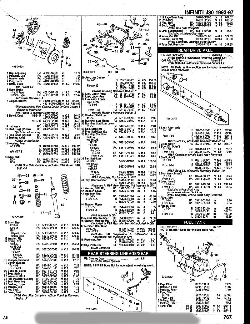 J30 Parts Diagrams